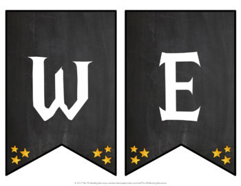 Wizardry Welcome Banner EDITABLE