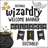 Editable Welcome Banner Wizardry Theme