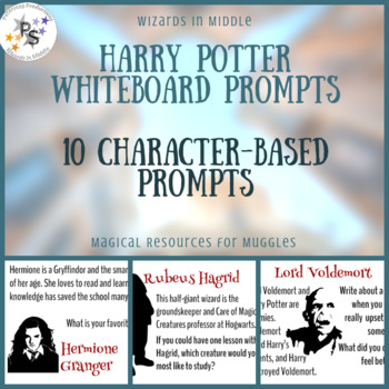 Harry Potter Whiteboard Prompts - Characters