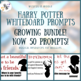 Harry Potter Whiteboard Prompts - Bundle