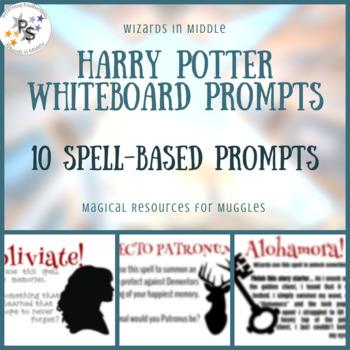 Harry Potter Whiteboard Prompts - Spells