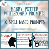 Harry Potter Whiteboard Prompts - Spells