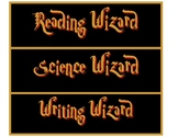 Harry Potter Wizard Labels