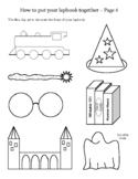 Wizarding Worlds Harry Potter Lapbook Activity