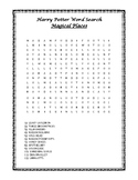 Harry Potter Word Searches
