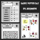 Harry Potter activities for EFL beginners