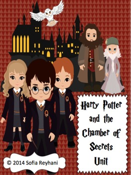 Harry Potter and The Chamber of Secrets Novel Unit {Common Core Aligned}