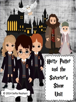 Harry Potter and The Sorcerer's Stone Novel Unit {Common Core Aligned}