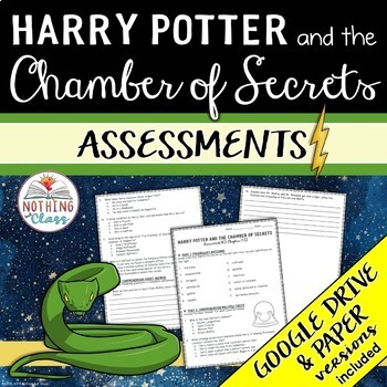 Harry Potter and the Chamber of Secrets: Tests, Quizzes, Assessments