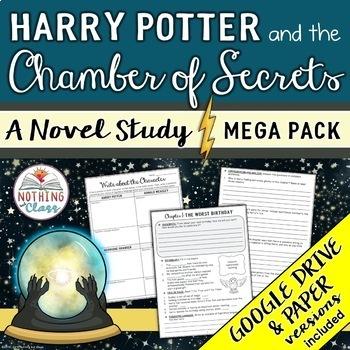 Harry Potter and the Chamber of Secrets Novel Study Unit MEGA Pack