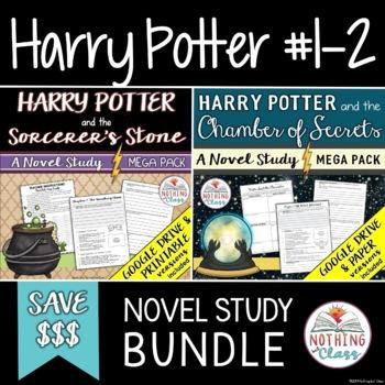 Harry Potter Novel Study Unit Bundle (Sorcerer's Stone and Chamber of Secrets)
