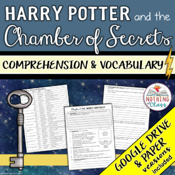 Harry Potter and the Chamber of Secrets: Comprehension and