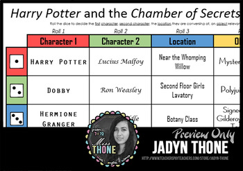 Harry Potter and the Chamber of Secrets Roll-A Writing Prompt