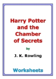 """""""Harry Potter and the Chamber of Secrets"""" worksheets"""