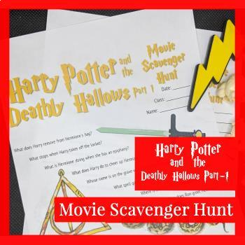 Harry Potter and the Deathly Hallows (Part-1) Movie Scavenger Hunt