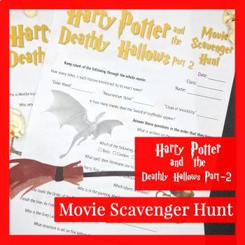 Harry Potter and the Deathly Hallows (Part-2) Movie Scavenger Hunt