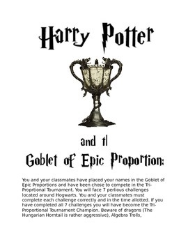 Harry Potter and the Goblet of Epic Proportions
