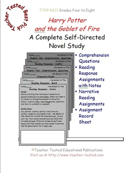 Harry Potter and the Goblet of Fire: A Complete Novel Study