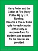 Harry Potter and the Goblet of Fire Chapter Quizzes
