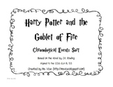 Harry Potter and the Goblet of Fire Chronological Order Sort