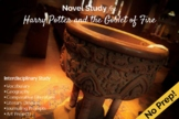 Harry Potter and the Goblet of Fire Novel Study
