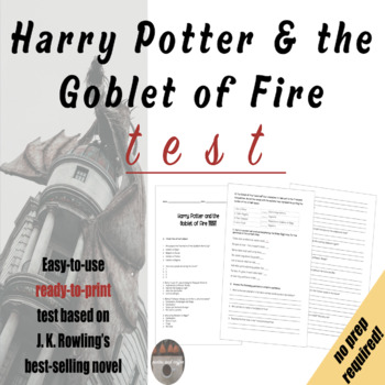 Harry Potter and the Goblet of Fire TEST