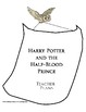 Harry Potter and the Half-Blood Prince Lesson Plan