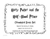 Harry Potter and the Half-Blood Prince Chronological Order Sort
