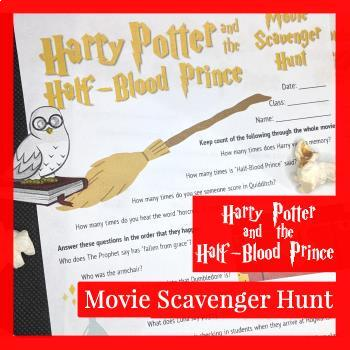 Harry Potter and the Half-Blood Prince Movie Scavenger Hunt