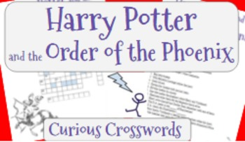 Harry Potter and the Order of the Phoenix (Book 5) Worksheet