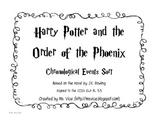 Harry Potter and the Order of the Phoenix Chronological Sort
