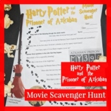 Harry Potter and the Prisoner of Azkaban Movie Scavenger Hunt