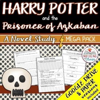 Harry Potter and the Prisoner of Azkaban Novel Study MEGA PACK