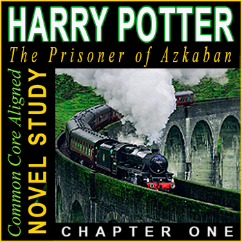 Harry Potter - Prisoner of Azkaban SALE! ⭐ Assessment ⭐ EDITABLE ⭐ CHAPTER ONE