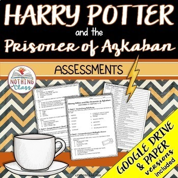 Harry Potter and the Prisoner of Azkaban: Tests, Quizzes, Assessments