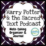 Harry Potter and the Sacred Text GROWING Journal and Organizer