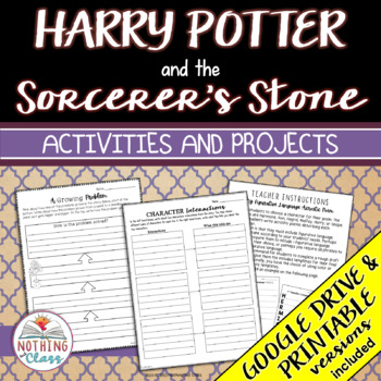 Harry Potter and the Sorcerer's Stone: Reading Response Activities and Projects
