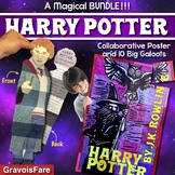 Harry Potter and the Sorcerer's Stone Activities for JK Rowling Series — BUNDLE