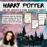 Harry Potter and the Sorcerer's Stone Assessment Bundle