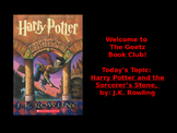 Harry Potter and the Sorcerer's Stone (J.K. Rowling) Book