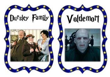 Harry Potter and the Sorcerer's Stone Character List