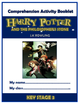 Harry Potter and the Sorcerer's Stone Comprehension Activities Booklet! (G6-8)