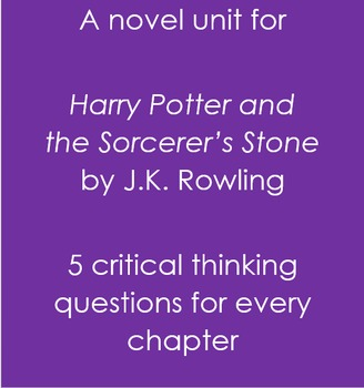 Harry Potter and the Sorcerer's Stone Full Novel Questions and Answers