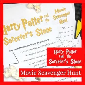 Harry Potter and the Sorcerer's Stone Movie Scavenger Hunt