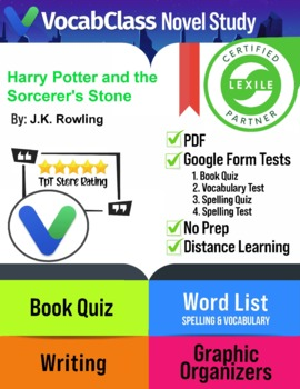 Harry Potter and The Sorcerer's Stone By J.K. Rowlings Novel Study