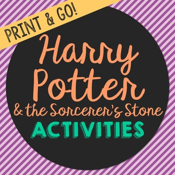 Harry Potter and the Sorcerer's Stone Novel Unit Study Activities, Book Report