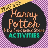 Harry Potter and the Sorcerer's Stone Novel Unit Study Act