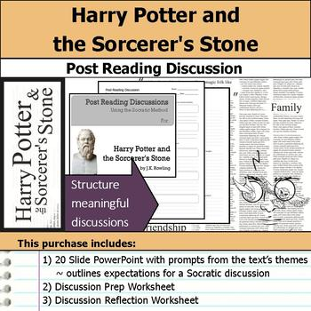 Harry Potter and the Sorcerer's Stone - Socratic Method Post Reading Discussions