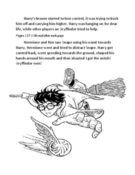 Harry Potter and the Sorcerer's Stone curriculum Chapter 11.