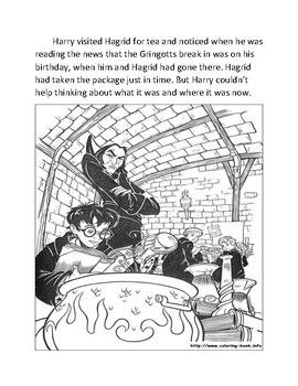 Harry Potter and the Sorcerer's Stone curriculum Chapter 8.